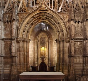 Valencia - Chapel of the Holy Grail